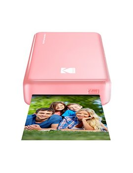 Kodak Mini 2 Hd Wireless Portable Mobile Instant Photo Printer, Print Social Media Photos, Premium Quality Full Color Prints – Compatible W/I Os & Android Devices (Pink) by Kodak
