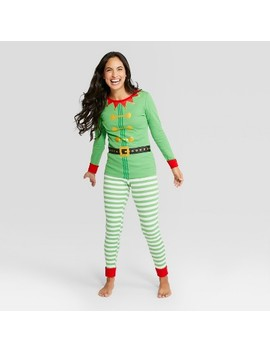 Women's Holiday Elf Pajama Set   Wondershop™ Green by Shop This Collection