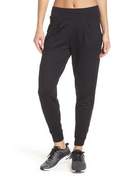 Taylor Slim Recycled Knit Jogger Pants by Zella