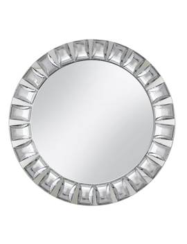 Charge It Large Beaded Rim Mirrored Charger Plate by Kohl's