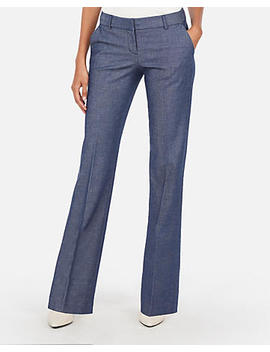 Low Rise Flare Editor Pant by Express