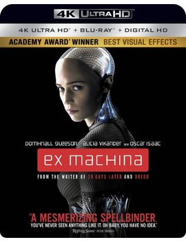 Ay/Blu Ray] [2015] by Ex Machina [Includes Digital Copy] [4 K Ultra Hd Bl