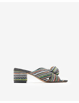 Knotted Slide Sandals by Express