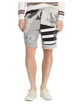 Polo Patchwork Fleece Shorts by Polo Ralph Lauren