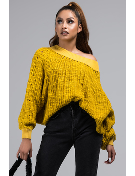 heard-about-us-off-shoulder-sweater by akira