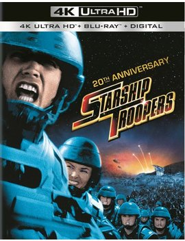 Ay] [1997] by Starship Troopers [20th Anniversarty Ed.] [With Digital Copy] [Ultra Violet] [4 K Ultra Hd Bl