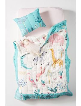 Paper & Cloth Safari Kids Quilt by Paper & Cloth