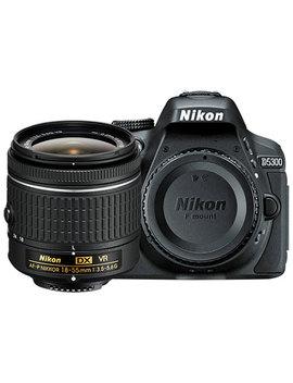 Nikon D5300 Dslr Camera With 18 55mm Vr Lens Kit by Nikon