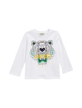 Tiger Graphic Long Sleeve T Shirt by Kenzo