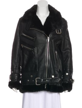 Shearling Leather Jacket by The Arrivals