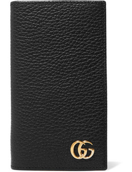 Gg Marmont Textured Leather I Phone 7 And 8 Case by Gucci