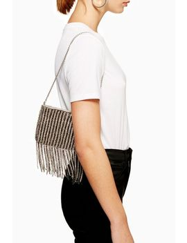 Talia Diamante Shoulder Bag by Topshop