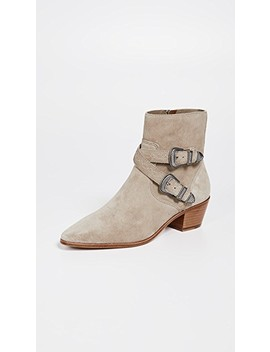 Ellen Buckle Short Boots by Frye