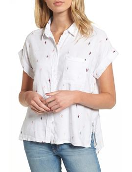Whitney Cactus Print Shirt by Rails