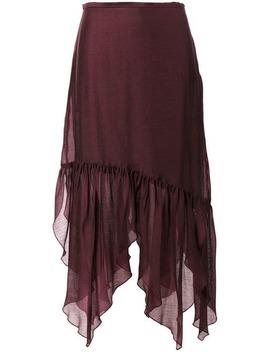 Asymmetric Midi Skirt by See By Chloé