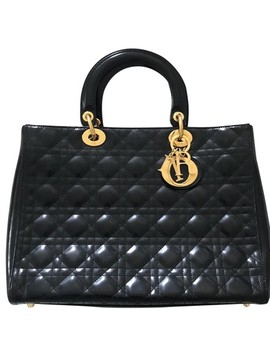 Cannage Black Purse Hobo Bag by Dior