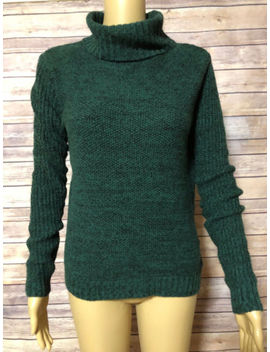 Merona Xs Green Pullover Turtle Neck Sweater Nwt by Merona