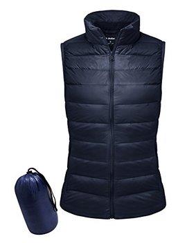 Yidarton Women Packable Lightweight Down Vest Outdoor Puffer Vests by Yidarton