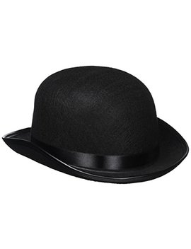 Kangaroo Black Derby Hat by Kangaroo