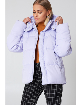 Padded Jacket Lilac by Na Kd