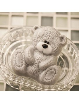Teddy Bear , Plastic Mold, Soap Mold, Chocolate Mold, Bathbomb Mold by Etsy