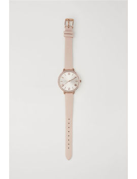 Watch With Rhinestones by H&M