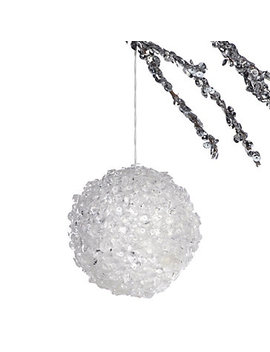 Ice Ball Ornament by Z Gallerie