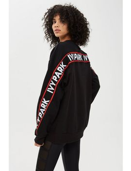 Flat Knit Unisex Sweatshirt By Ivy Park by Topshop