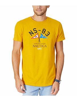 Nautica Mens Martime Sailing Graphic T Shirt by Nautica