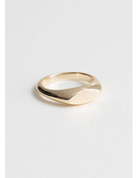 Oval Plateau Ring by & Other Stories