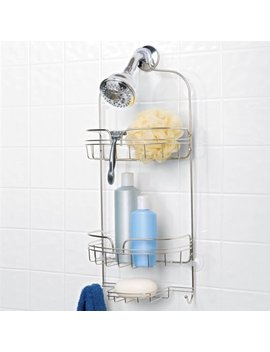 Chapter Large Shower Caddy, Stainless Steel by Chapter