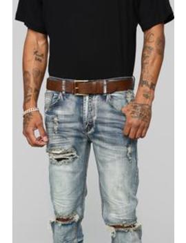 Pops Everyday Belt   Dark Brown by Fashion Nova