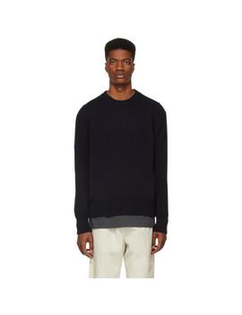 Navy Sorello Sweater by Studio Nicholson