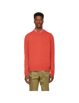 Red Sorello Sweater by Studio Nicholson
