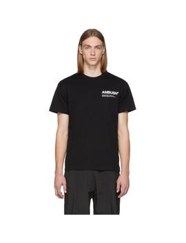 Ssense Exclusive Black Nobo T Shirt by Ambush