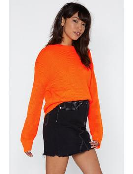 Fisherman Sweater by Nasty Gal