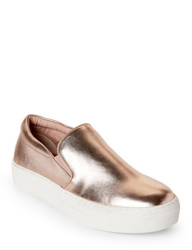 Rose Gold Gills Slip On Sneakers by Steve Madden