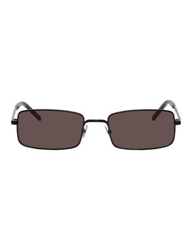Black Sl 252 Sunglasses by Saint Laurent