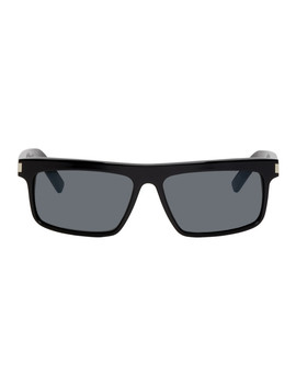 Black Sl 246 Sunglasses by Saint Laurent