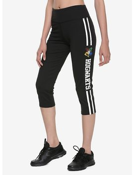 Harry Potter Hogwarts Crest Girls Active Capris by Hot Topic