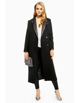 Tuxedo Coat by Topshop