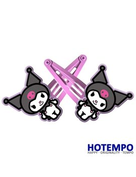 Japan Cartoon Kuromi Melody Cute Sanrio Childhood Action Figure For Girls Hair Accessories Gift Hairpins by Ali Express