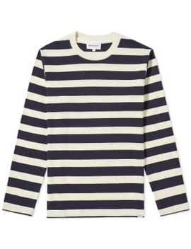 Norse Projects Long Sleeve Johannes Rugby Stripe Tee by Norse Projects