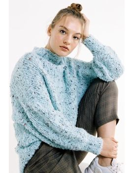 Uo Capulet Cozy Mock Neck Cocoon Sweater by Urban Outfitters