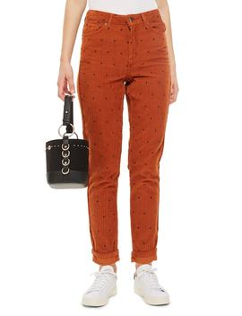 Corduroy Mom Jeans by Topshop