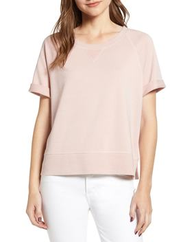 Kalle Washed Sweatshirt Top by Cupcakes And Cashmere