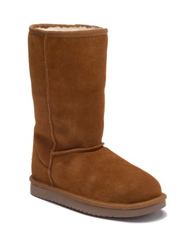 Koola Faux Fur Suede Tall Boot (Little Kid & Big Kid) by Koolaburra By Ugg