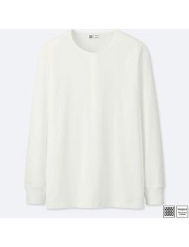 Herren Langarm Shirt Aus Supima Baumwolle (Rundhalsausschnitt) by Uniqlo