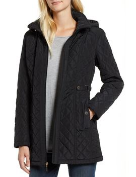 Quilted Hooded Jacket by Gallery
