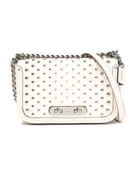 Studded Leather Shoulder Bag by Coach
